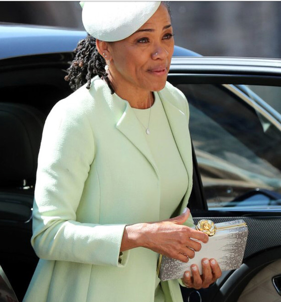 Why Meghan Markle's Mother Wearing Her Natural Hair at the Royal Wedding Changed This World