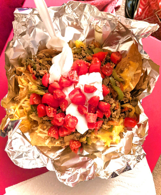 Healthy Game Day Nachos