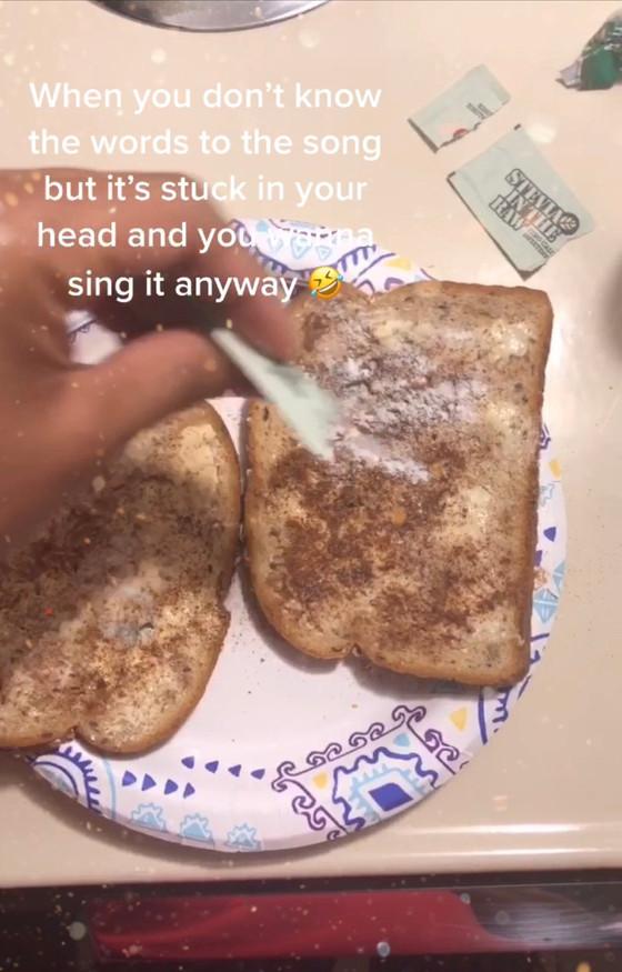 Healthy Cinnamon Toast