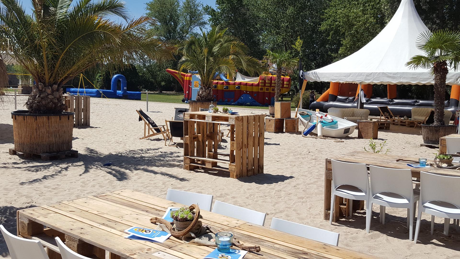 Sommerfest Veranstaltung im Beach Hamburg