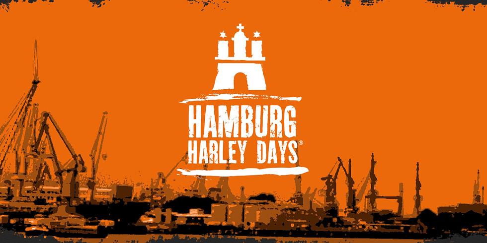 AUSFAHRT  -   HARLEY DAYS HAMBURG (in Planung)