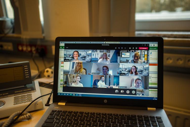 Teammeetings bei smart and more zu Zeiten von Corona