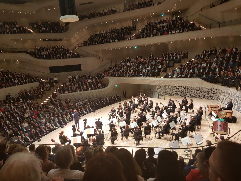 Auftaktveranstaltung in der Elbphilharmonie