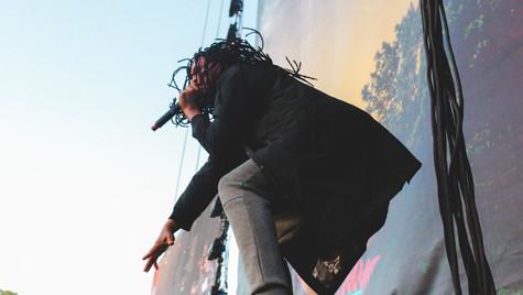Waka Flacka Flame performing at Okeechobee Music and Arts Festival 2017