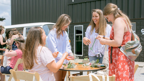 Flower Crowns, Markets for Makers