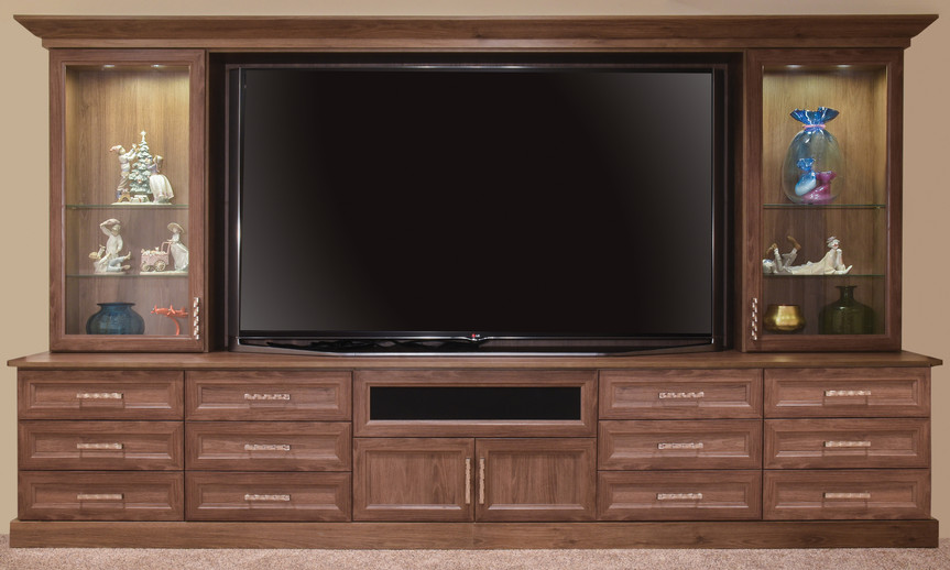 entertainment center wall unit