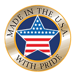 Our products and components made in the USA with pride!