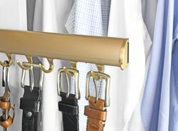 Matt gold Belt Racks