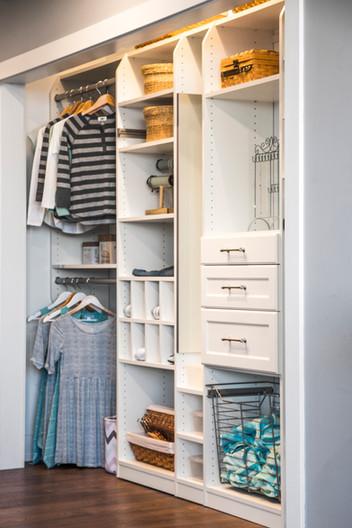 reach in closets design