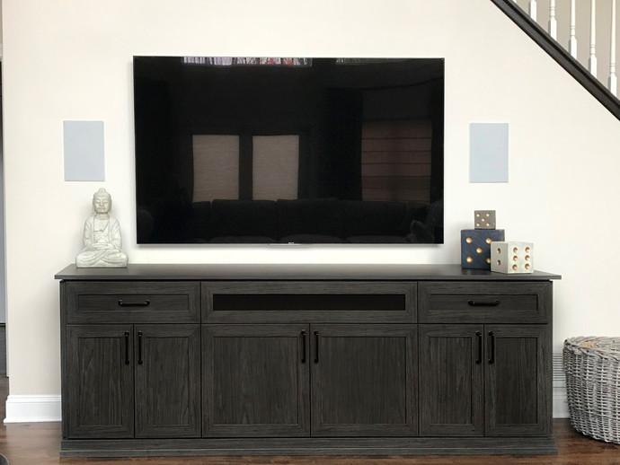 entertainment center console