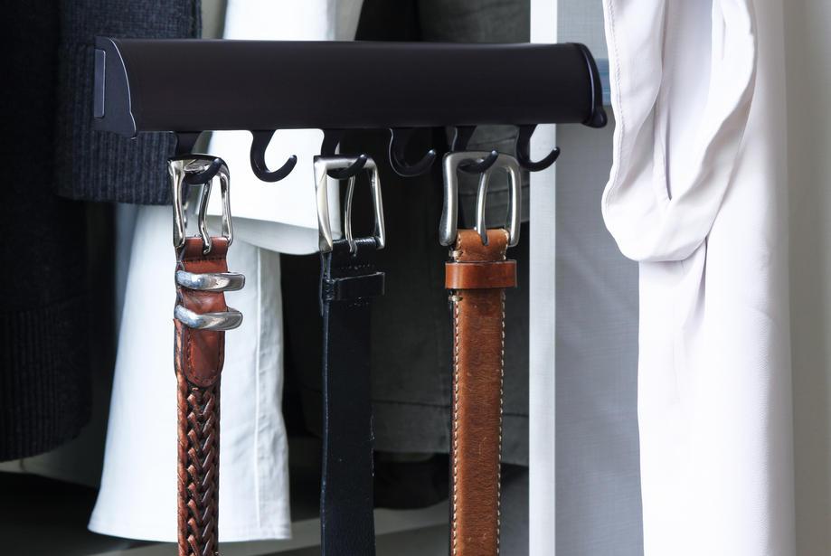 belt racks for closet
