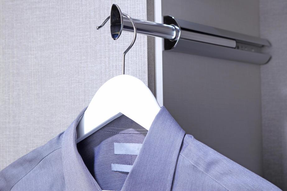 valet rod for closet