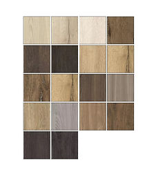 Selection colors for custom shelving color