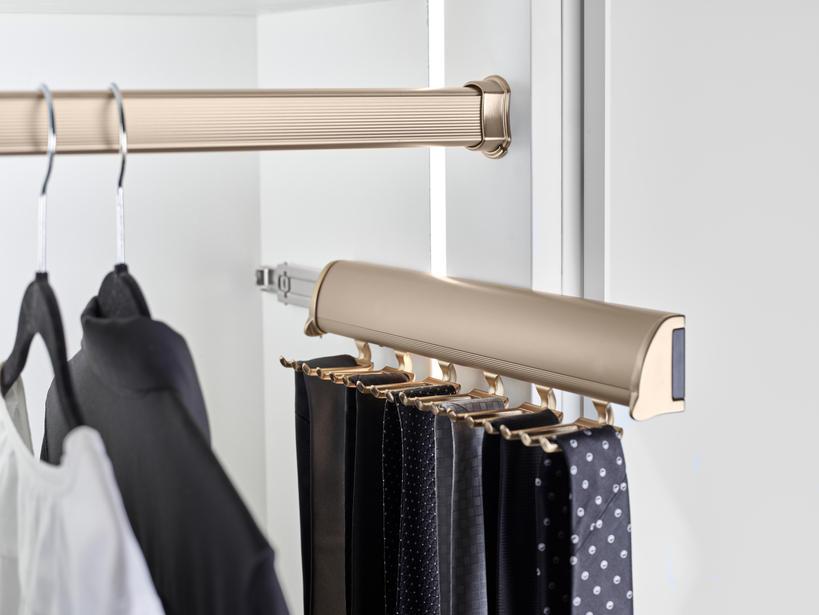 best tie rack for closet