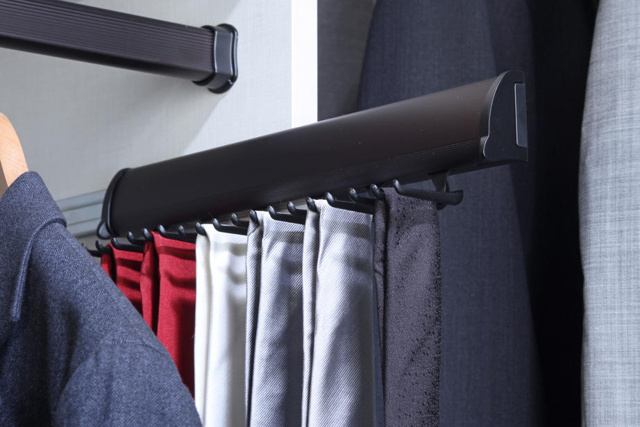 tie racks for closet