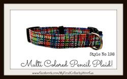 Multi Colored Pencil Plaid 198