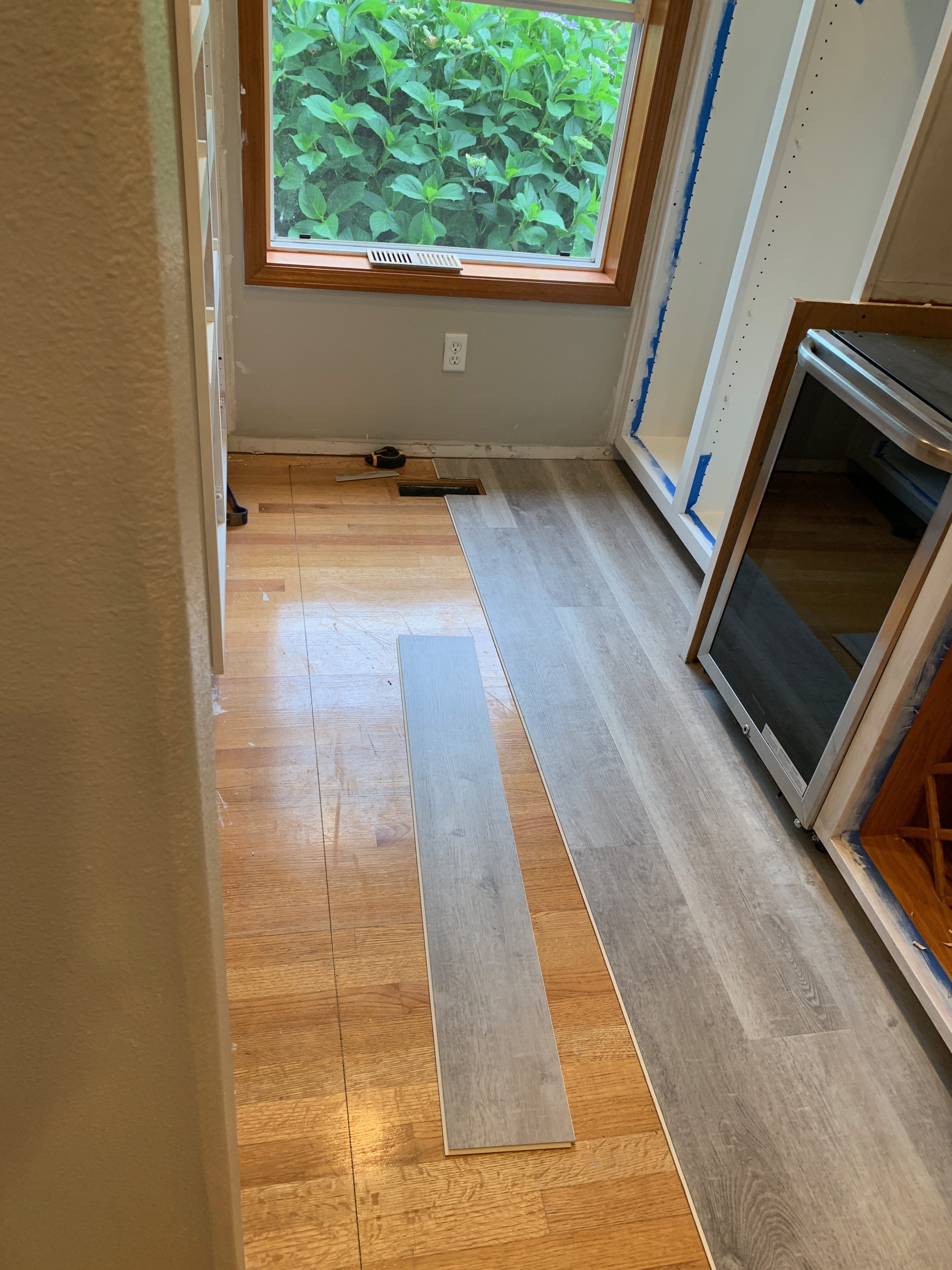 First of the floor