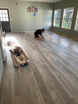 Flooring Install 1/13/21