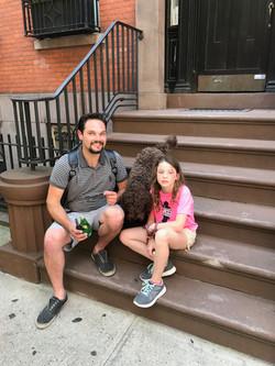 NY city with Barry & Emma