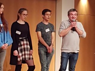 Preisverleihung des Prix des Lycéens Allemands auf der Leipziger Buchmesse