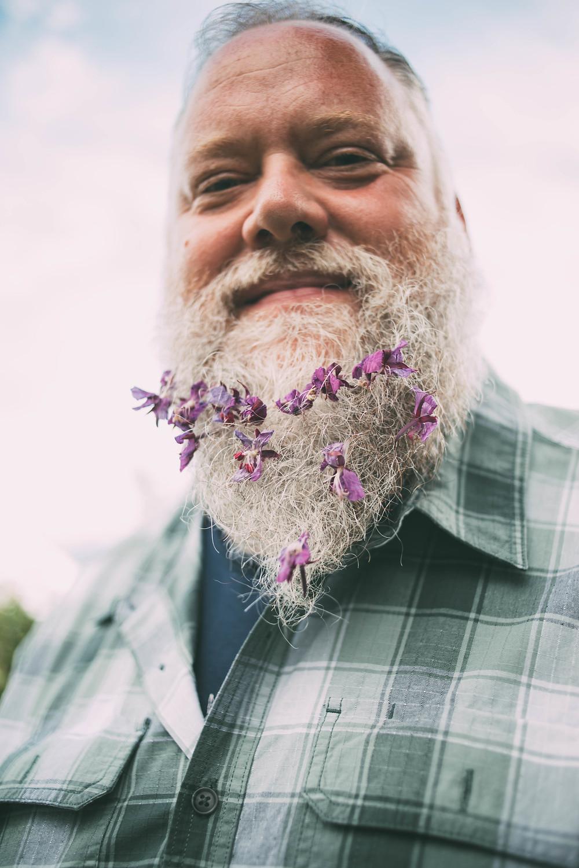 Beard flowers, Field to Vase, Homer, AK, wild flowers, fireweed beard