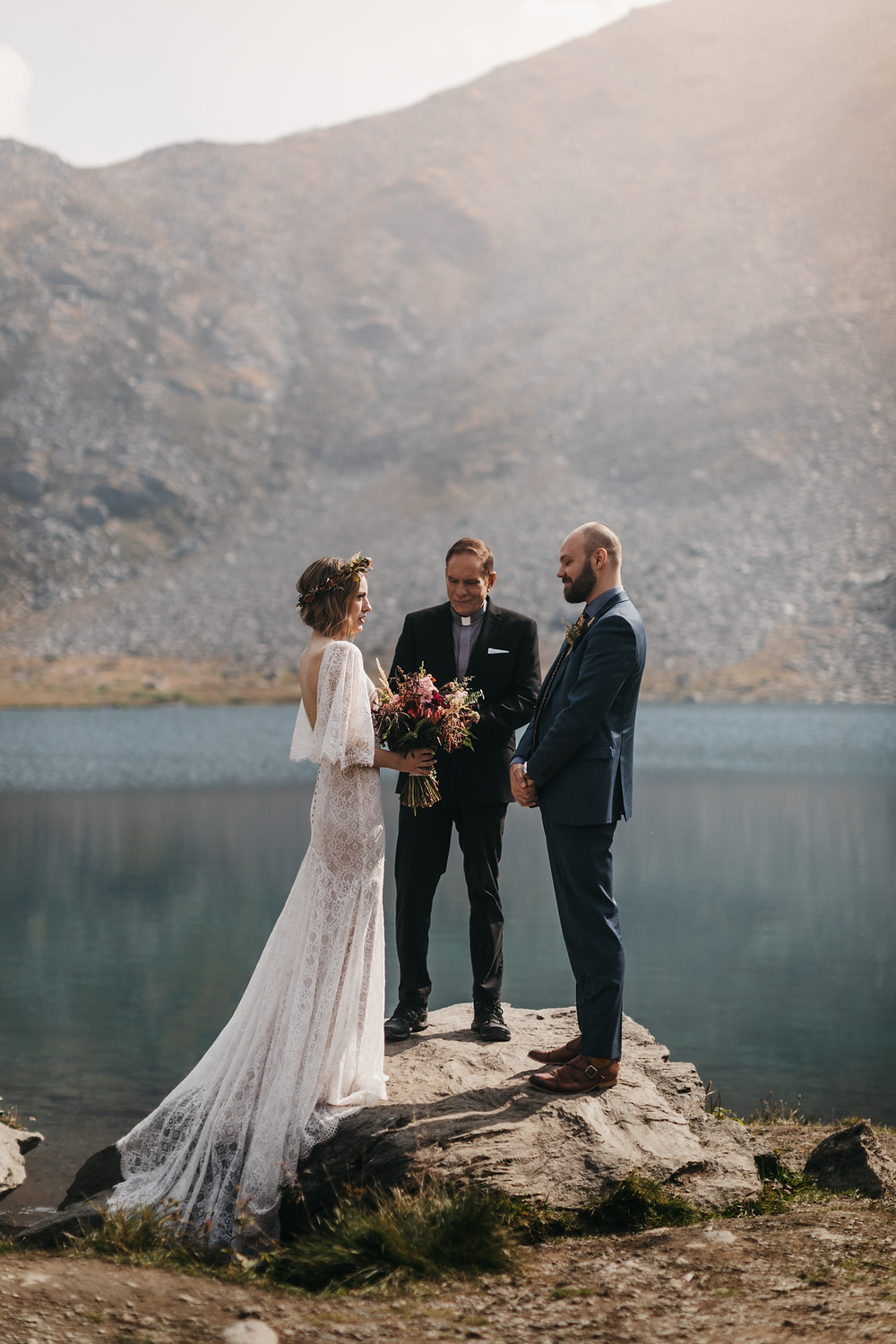 Alaska mountain elopement, palmer ak, hatcher pass, summit lake, alaska adventure wedding