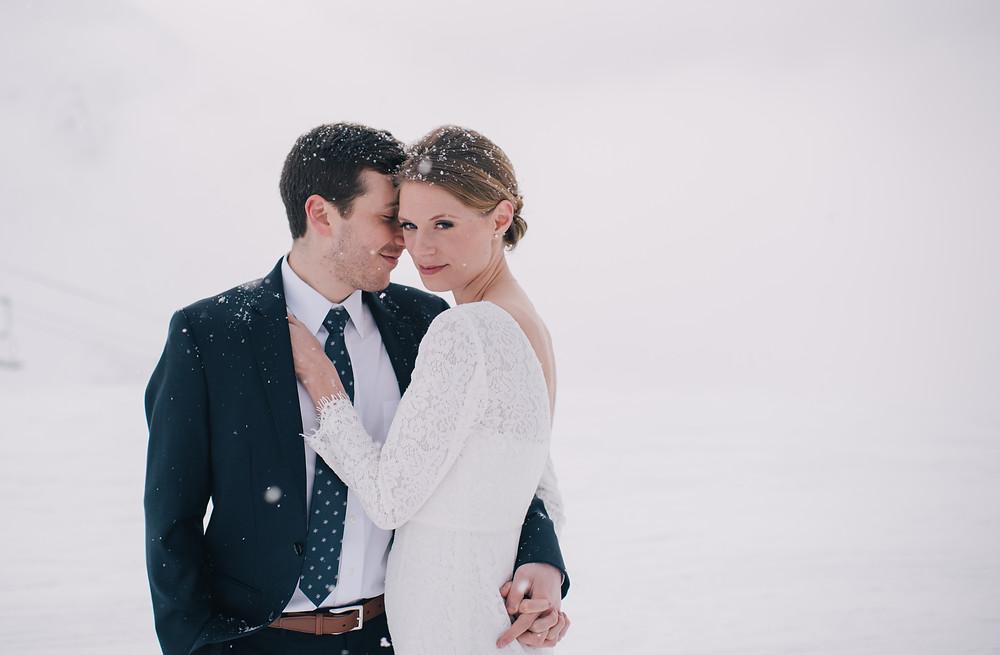 Winter wedding Alyeska
