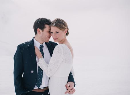 Candlelit Alyeska Winter Wedding
