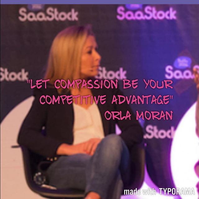 _Let compassion be your competitive advantage_ Orla Moran #entrepreneur #entrepreneurquotes #sales #