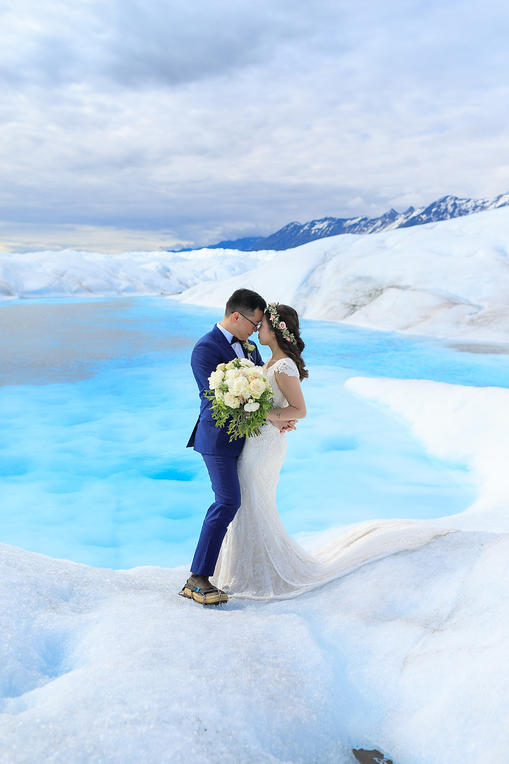 Elope to Alaska on a magical and ancient glacier with La Boum Events