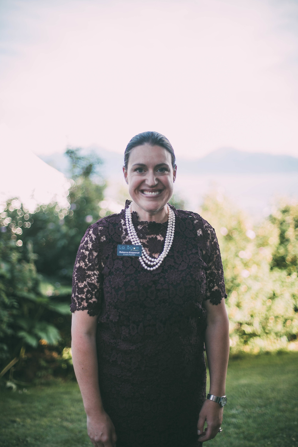 Rebecca Kopperud, event planner of La Boum Events scenic place peony farm, field to vase dinner, wedding and event venue, homer, alaska, AK