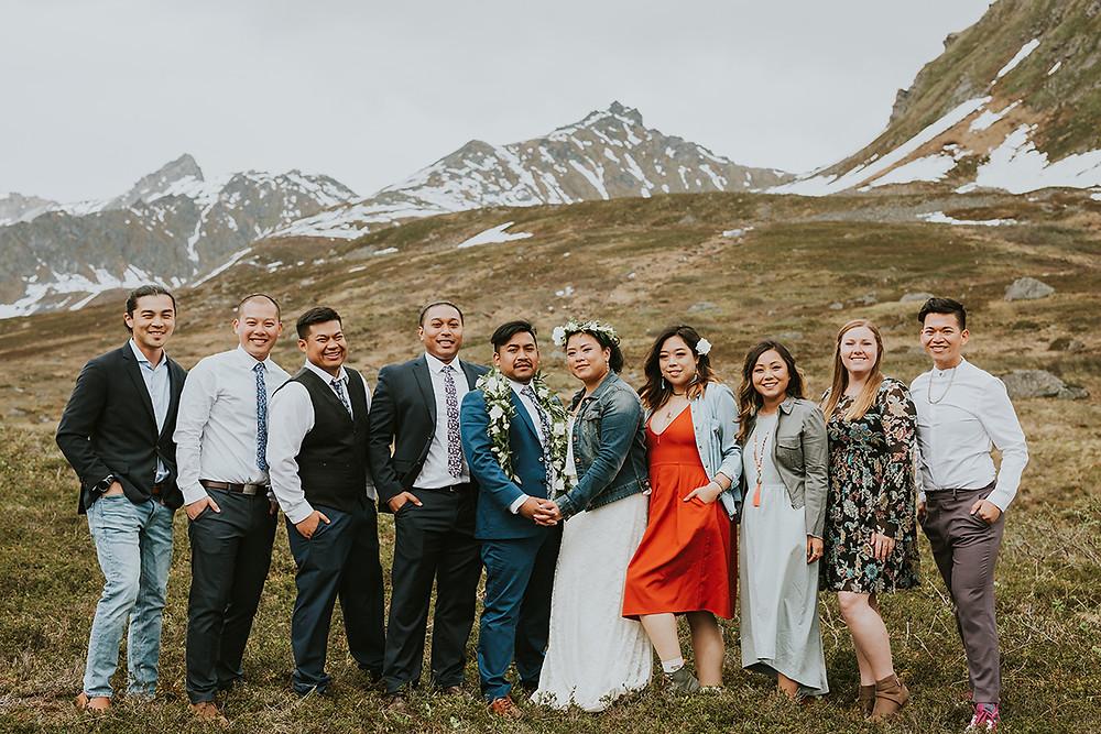 Plan your Alaska destination wedding with La Boum Events! | Photo by Tanya Val