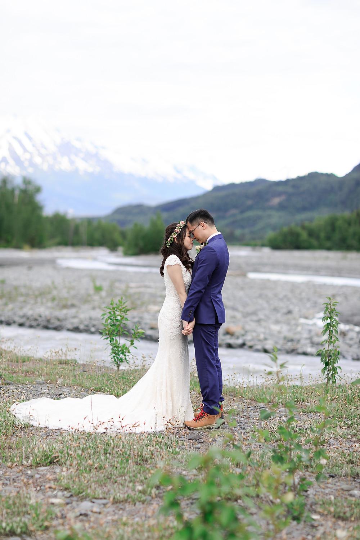 Elope with a big wild Alaska backdrop with La Boum Events