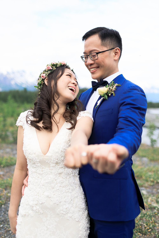 Scenic Alaska elopements with La Boum Events
