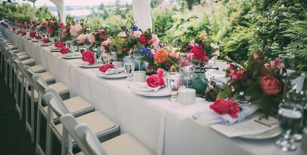 scenic place peony farm, field to vase dinner, wedding and event venue, homer, alaska, AK