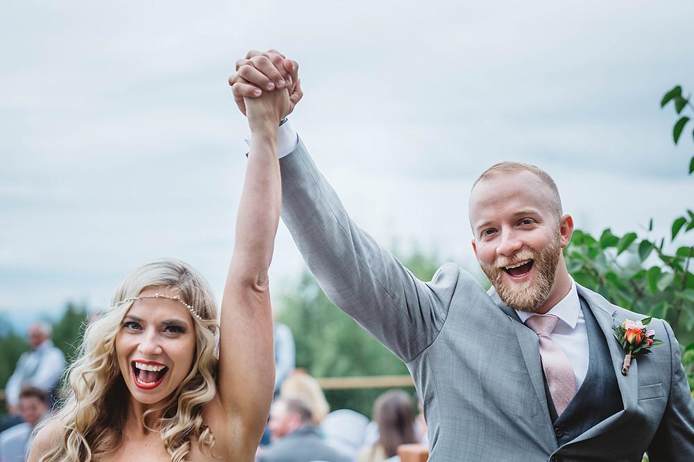 Plan your Alaska Destination Wedding with LaBoum Events!   Photo by Love Adventured