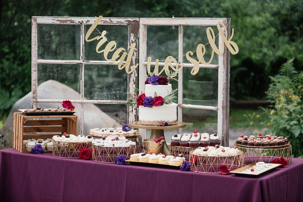 Treat Yo Self dessert buffet styled by Ardy Cakes and La Boum Events