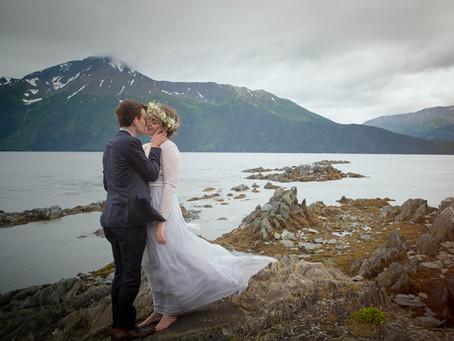 Laura and David Elope in Secret to Alaska
