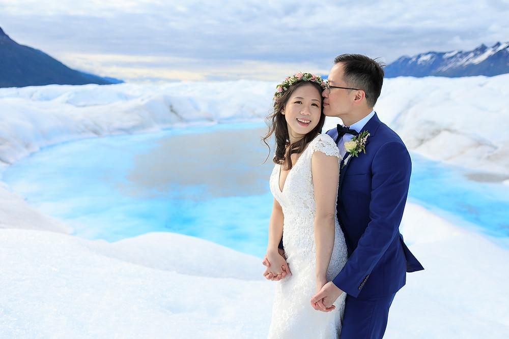 Elope to a glacier with La Boum Events