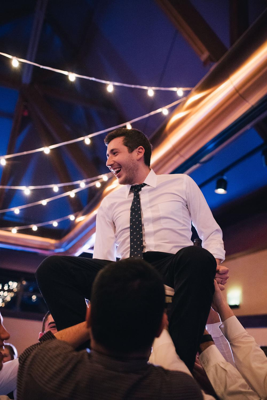 alyeska wedding dancing the hora