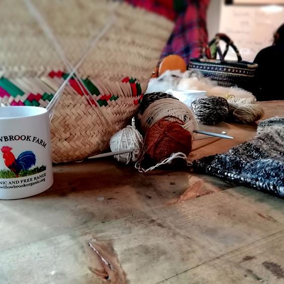 'Woolly'brook Spinning & Knitting Club