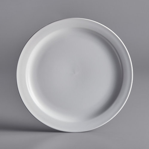 Classic White Rim Dinner Plate