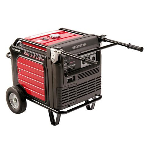 45 AMP QUIET PORTABLE GENERATOR (ELECTRIC START)