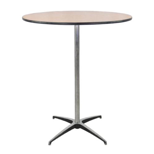 "36"" Standing Cocktail Table"