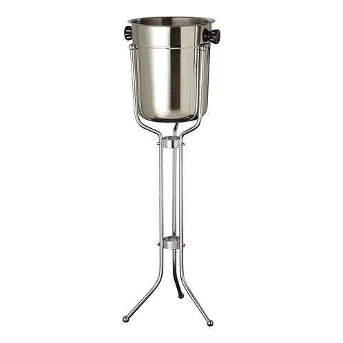 Stainless Steel Champagne Bucket w/Steel Stand