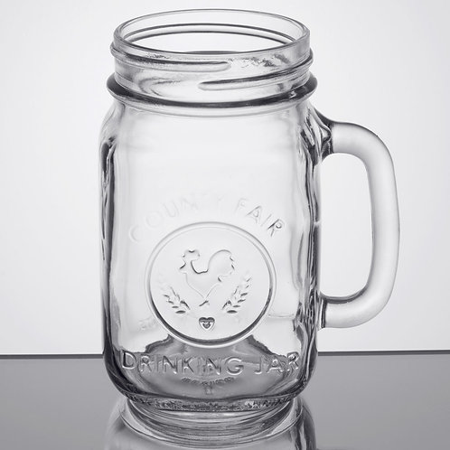 16 oz. Mason Jar with Handle