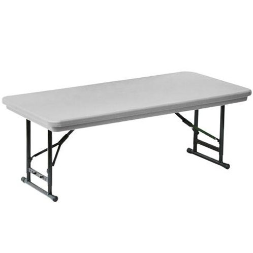 Kids Heavy Duty White Plastic Banquet Table