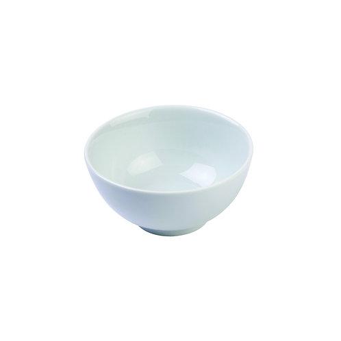 "Classic White Rim 3"" Rice Bowl"