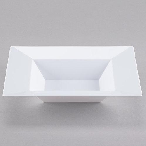 Florence 12 oz. square plastic bowl
