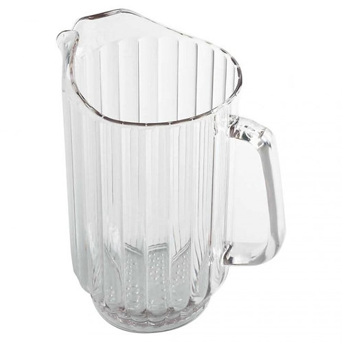 Clear Plastic Water Pitcher